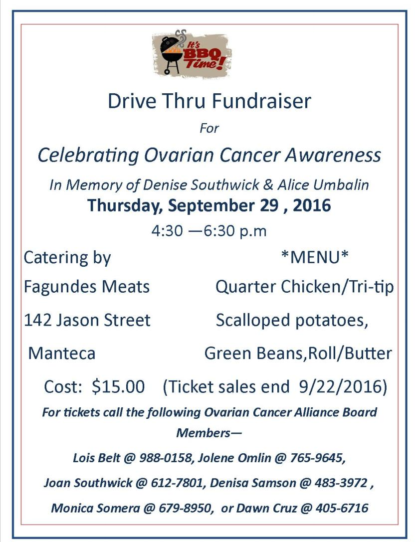 Fundraiser Drive thru Dinner